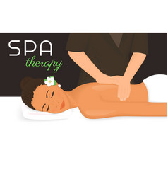 Spa therapy vector image vector image