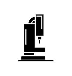 laser cutting machine icon vector image
