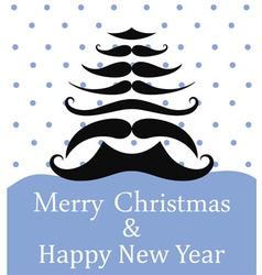 Christmas New Year vector image