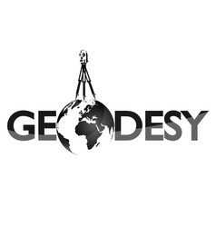 Geodesy symbol for surveyor vector