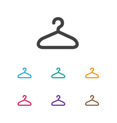 of shopping symbol on hanger vector image