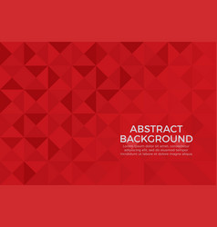 red color background abstract art vector image