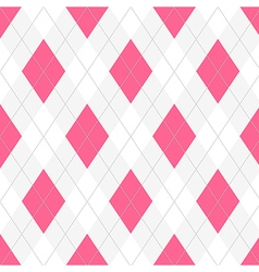 Seamless argyle pattern Diamond shapes background vector