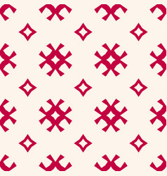 seamless pattern traditional scandinavian motif vector image