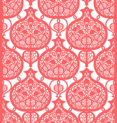 Seamless pattern with pomegranates vector