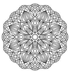 Simple geometric mandala vector