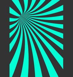 spiral tunnel vortex motion striped tunnel vector image
