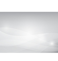Grey abstract background lighting curve and layer vector image vector image