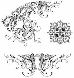 design floral vector image