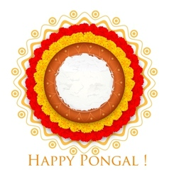 Happy Pongal vector image vector image