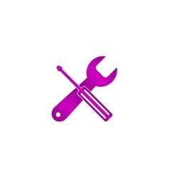 Repair Service simbol Tools singn vector image