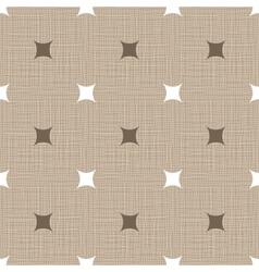 Seamless retro pattern Linen Vintage background vector image vector image