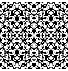 Abstract Seamless tracery pattern vector image