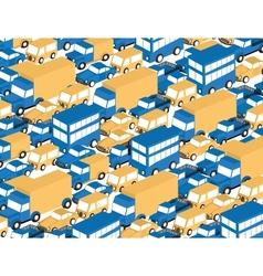 Car pattern vector image