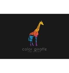 giraffe logo design africa logo creative logo vector image