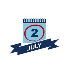 July 2 vector