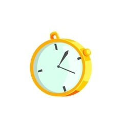 Mechanical Stopwatch Drawing vector image