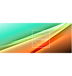 Rainbow fluid gradient background with abstract vector
