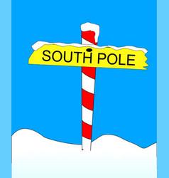 South pole vector
