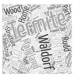 Termite Control in Waldorf Maryland Word Cloud vector