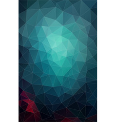 vertical flat pastel color geometric triangle vector image