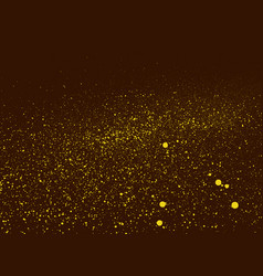 Graffiti grunge background in brown and yellow vector
