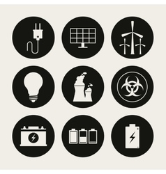 Save Energy design vector image
