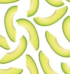 avocado seamless background vector image vector image