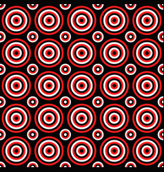 Abstract seamless pattern - circle design vector