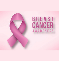breast cancer awareness month designs vector image