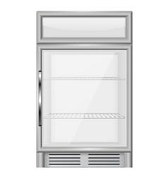 Display refrigerator vector