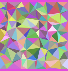 Geometrical abstract triangle tiled background vector
