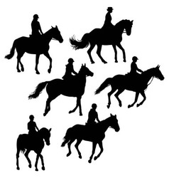 Jockeys And Riders vector image
