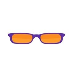 Sunglasses isolated on white background vector image