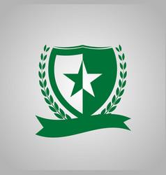the decorative icon vector image
