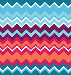 Tribal aztec zigzag seamless pattern vector image vector image