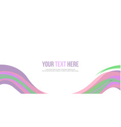 Abstract background colorful website header vector