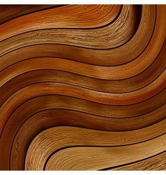 Abstract wood twisted background EPS8 vector