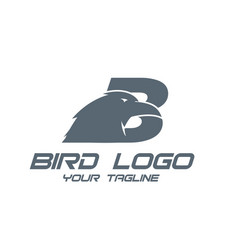 bird logo design simple and modern vector image