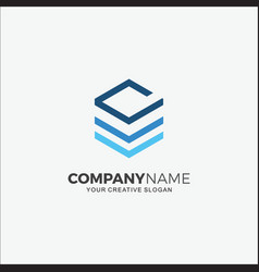 business logo initials dv vector image