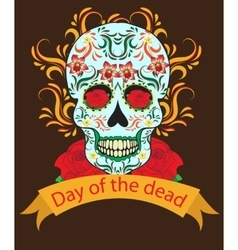 Day of the Dead a Mexican festival vector