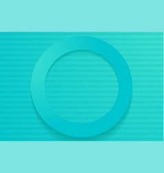 Modern turquoise backgrounds 3d colorful overlap vector