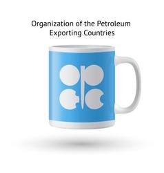 Organization petroleum exporting countries vector