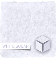 Sugar background vector