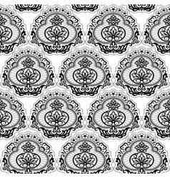 seamless lace floral2 vector image