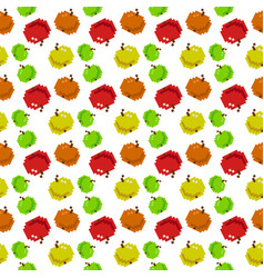 8 bit seamless pattern with apples perfect for vector