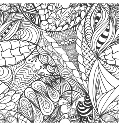 Abstract hand-drawn background vector