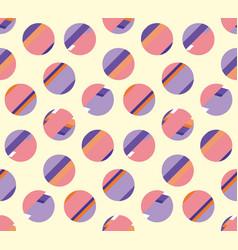 concept modern polka dot seamless pattern surface vector image
