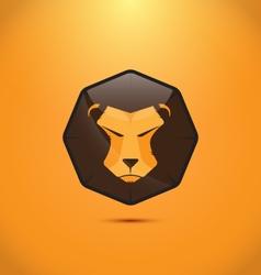Lion modern logo design vector image