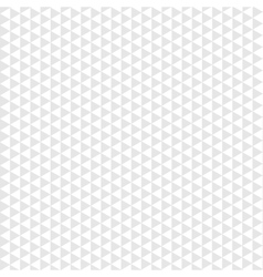 Seamless pattern gray triangle on white background vector image vector image
